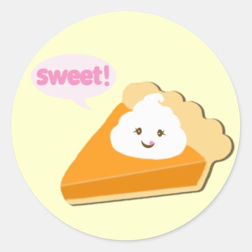 Pumpkin Pie Love Stickers
