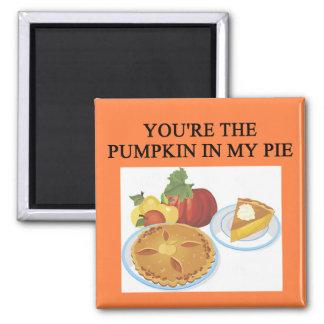PUMPKIN pie lovers Magnet