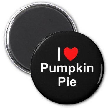 Valentines Themed Pumpkin Pie Magnet