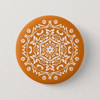 Pumpkin Pie Mandala Button