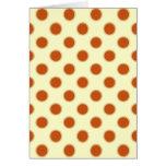 Pumpkin Pie Pattern. Cards