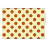Pumpkin Pie Pattern. Greeting Card