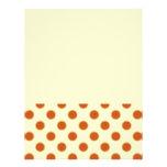 Pumpkin Pie Pattern. Personalized Flyer