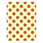 Pumpkin Pie Pattern. Post Cards