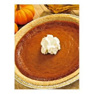 Pumpkin pie postcards