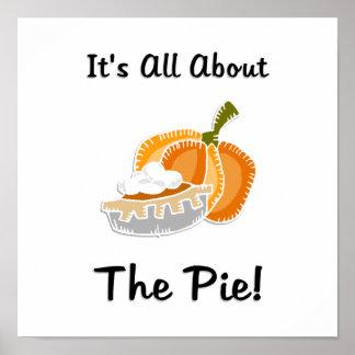 Pumpkin Pie Print