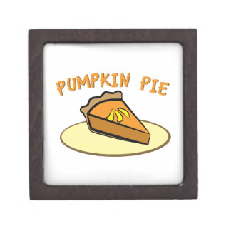 Pumpkin Pie Premium Trinket Box