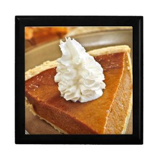 Pumpkin pie slice gift box