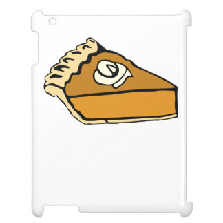 Pumpkin Pie With Whipped Cream Cover For The iPad