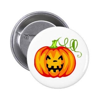 Pumpkin Pinback Button