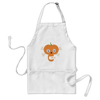 Pumpkin Pirate -Boo Ya! Adult Apron