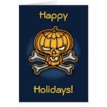 Pumpkin Pirate Greeting Card
