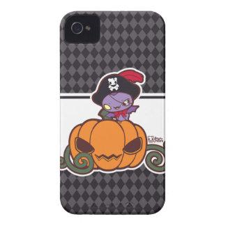 Pumpkin Pirate iPhone 4 Case-Mate Case
