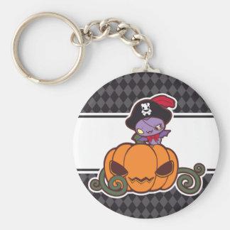 Pumpkin Pirate Keychain