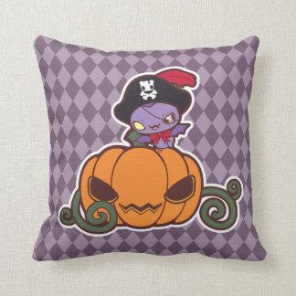 Pumpkin Pirate Throw Pillow