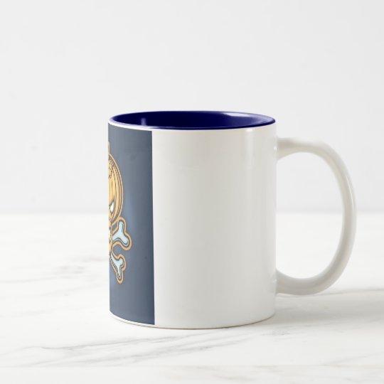 Pumpkin Pirate Two-Tone Coffee Mug