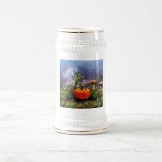 Pumpkin Pixie Beer Stein Mug