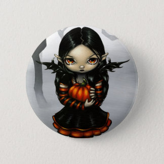 """Pumpkin Pixie"" Button"