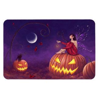 Pumpkin Pixie Halloween Fairy Flexible Magnet