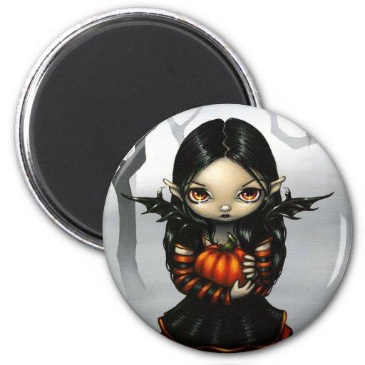 Pumpkin Pixie Magnet