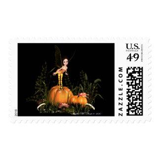 Pumpkin Pixie Postage
