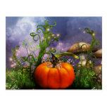 Pumpkin Pixie Postcard