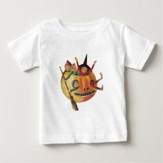 Pumpkin Play (Vintage Halloween Card) Baby T-Shirt