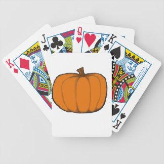 Pumpkin Poker Cards