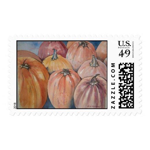 Pumpkin Postage