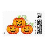 Pumpkin Postage Stamp