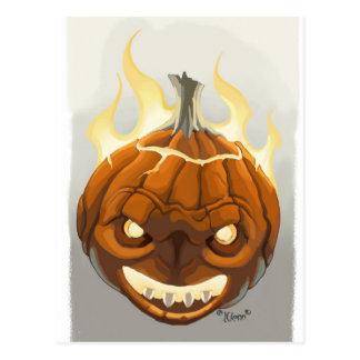 Pumpkin' Postcard