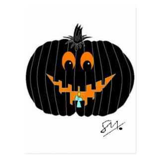 Pumpkin Postcard