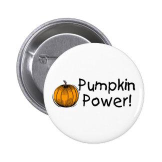 Pumpkin Power 2 Inch Round Button