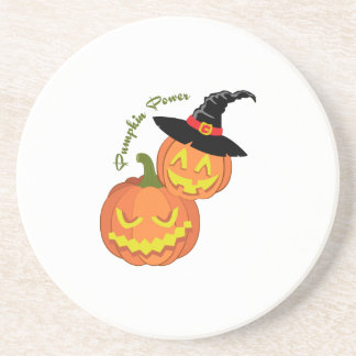 Pumpkin Power Drink Coasters