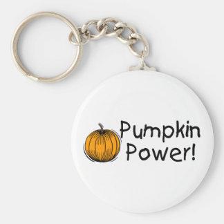 Pumpkin Power Key Chain