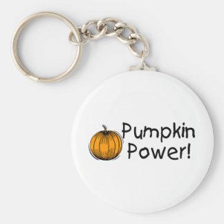 Pumpkin Power Key Chains