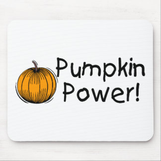 Pumpkin Power Mouse Pads