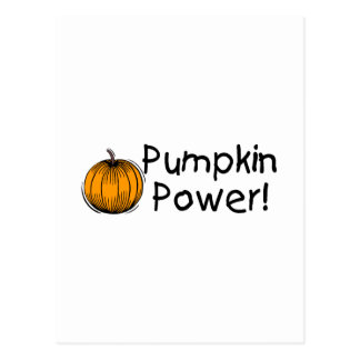 Pumpkin Power Postcard