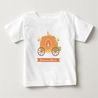 Pumpkin Princess Carriage Cinderella Fairytale Baby T-Shirt