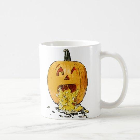 Pumpkin Puking Coffee Mug