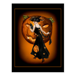 Pumpkin Queen - Postcard