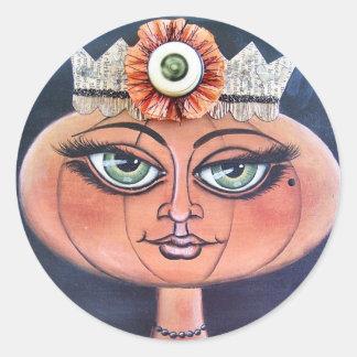Pumpkin Queen Stickers