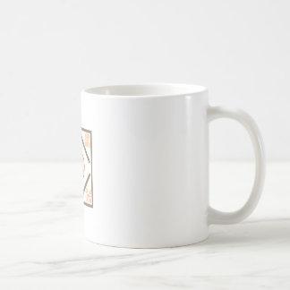 PUMPKIN QUILT SQUARE COFFEE MUG