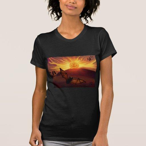 Pumpkin Rise Halloween Art T-Shirt