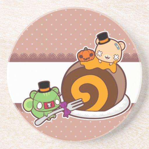 Pumpkin Roll Delight Coaster
