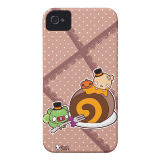 Pumpkin Roll Delight iPhone 4 Case-Mate Cases