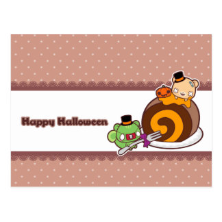 Pumpkin Roll Delight Postcard