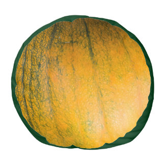 Pumpkin Round Pouf Cushion