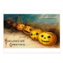 Pumpkin Row - Curioser and Curioser Postcard