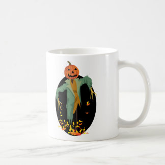 Pumpkin Scarecrow Coffee Mugs